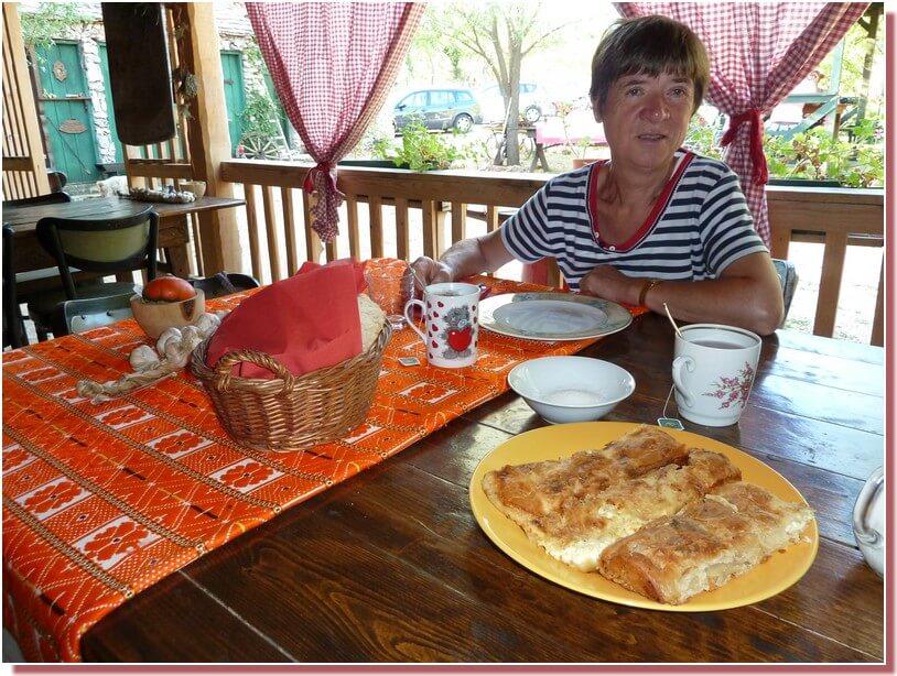 Gibanica petit dejeuner dalmate Kalpic