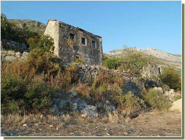 Maison abandonnée en republika srpska