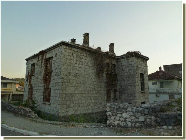 Maison du centre de Stolac
