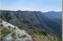 Montagnes du Montenegro vue de la Republika Srpska