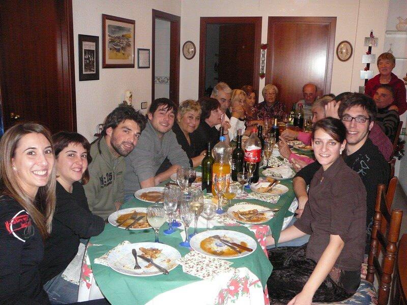 Repas des rois en famille