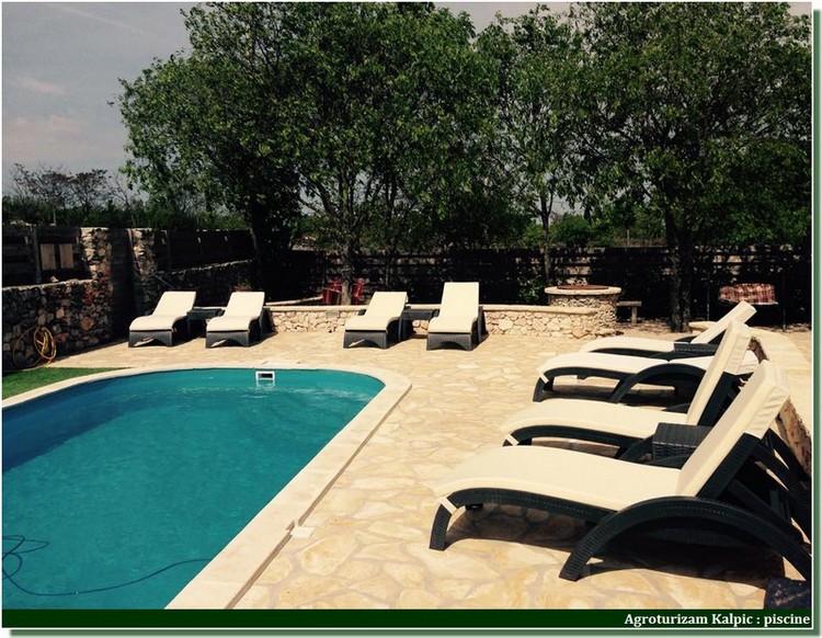 agrotourisme Kalpic piscine