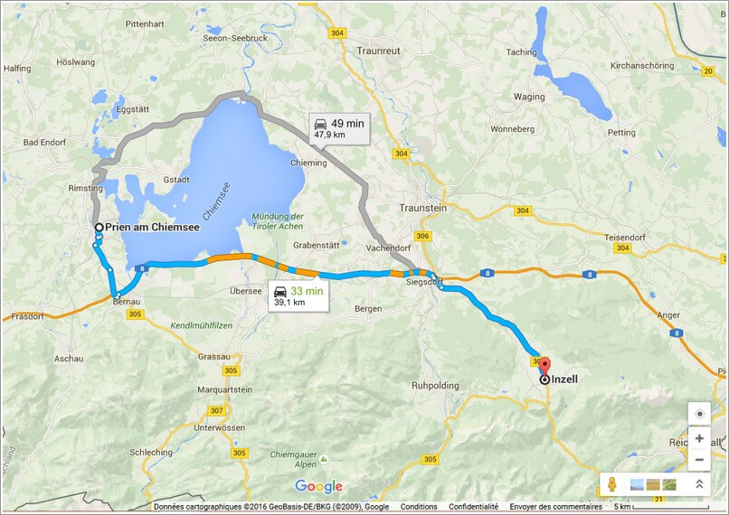 plan inzell chiemsee