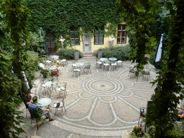 quartier des palais à Budapest maison des architectes