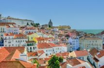 Alfama lisbonne portugal