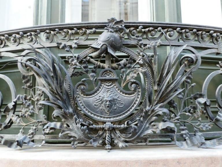 Budapest  Palais Törley détail