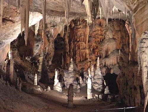 Grottes de Postojna formations géologiques
