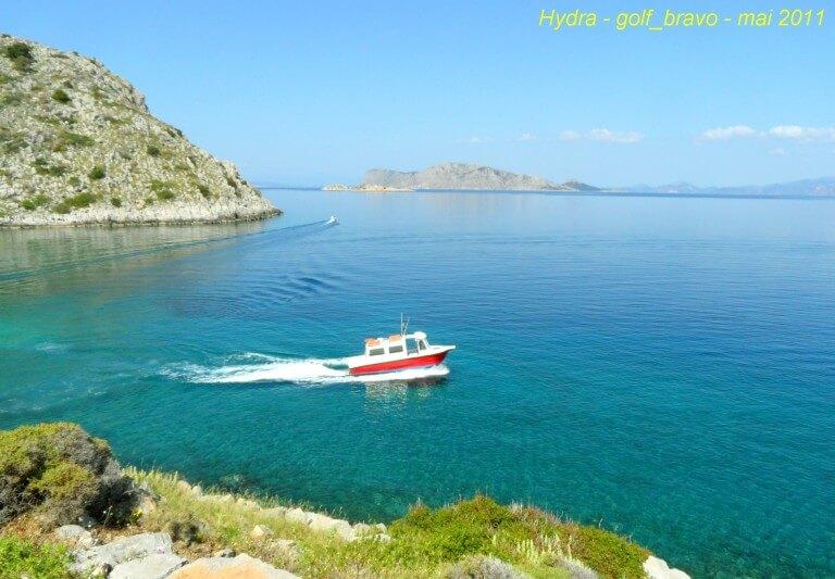 Hydra bateau taxi