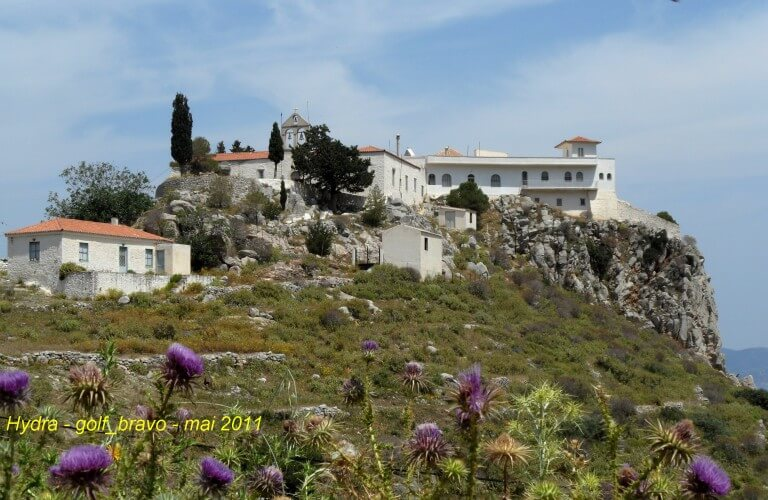 Hydra monastère Moni Agia Triados