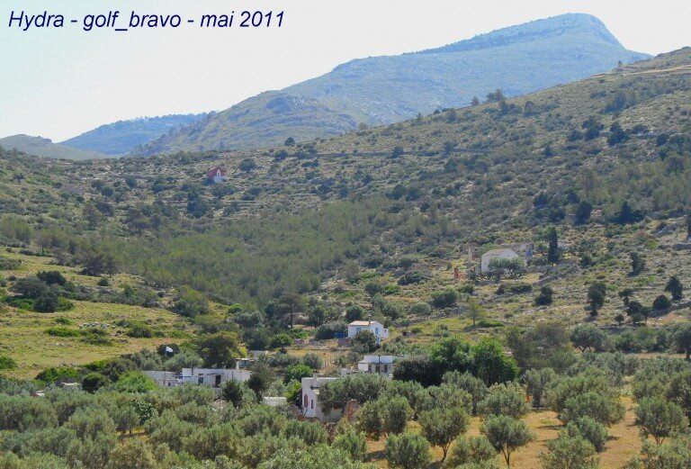 Hydra paysage près d'Episkopi