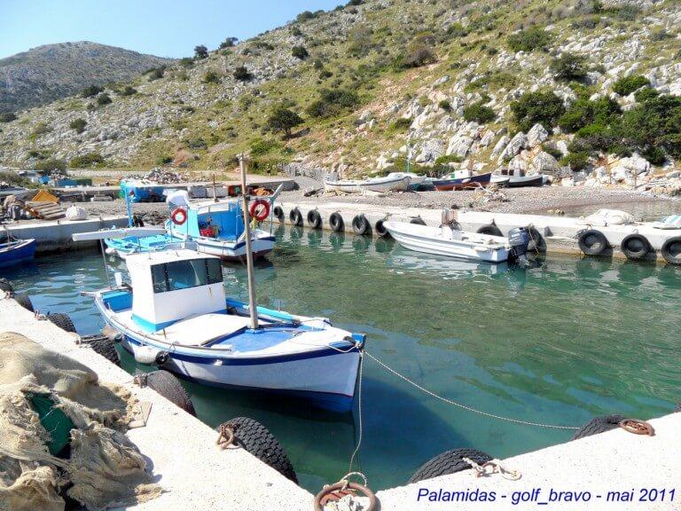 Hydra port de Palamidas