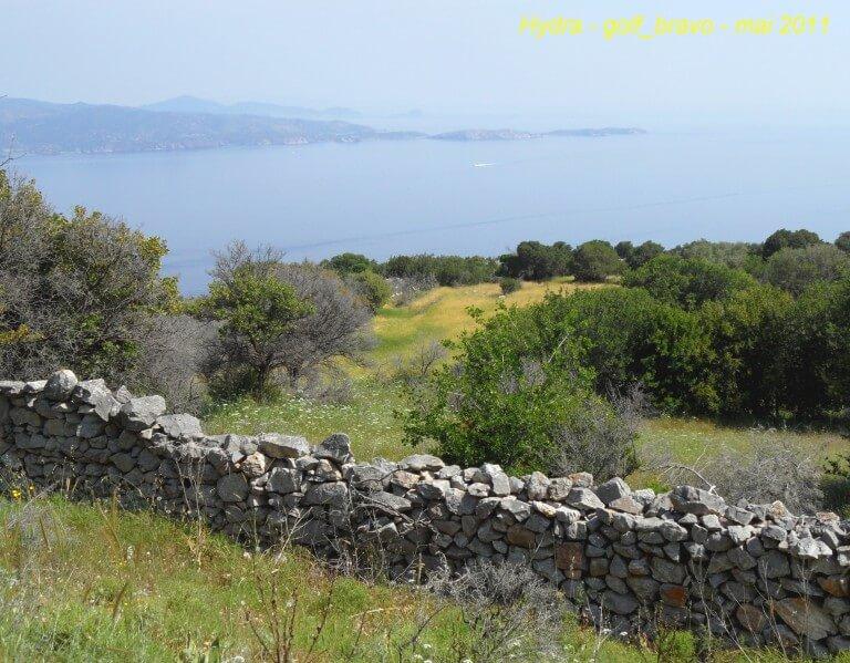 Hydra sentier de randonnée