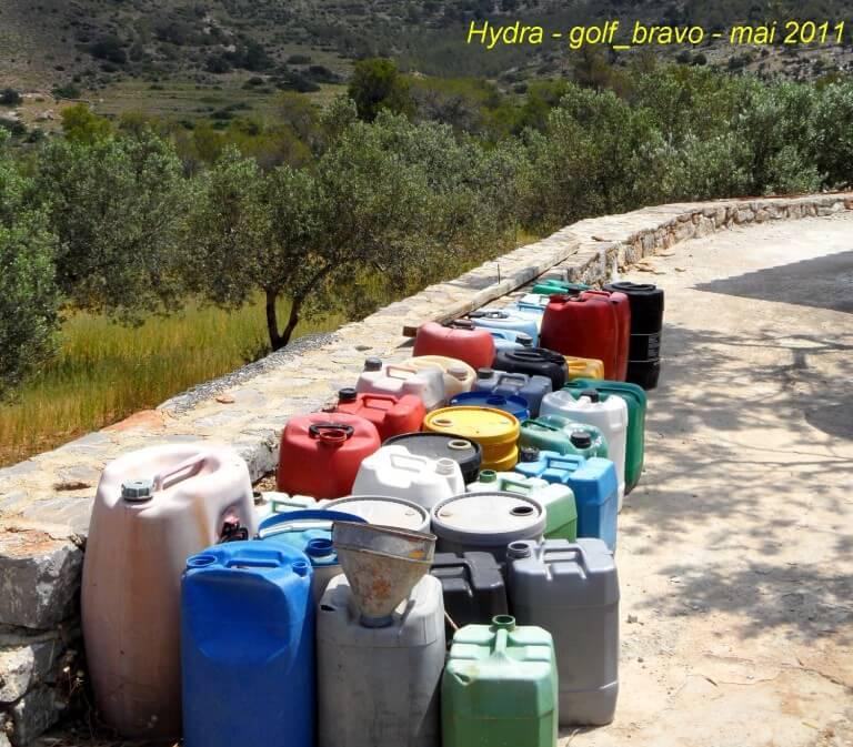 Hydra bidons d'eau