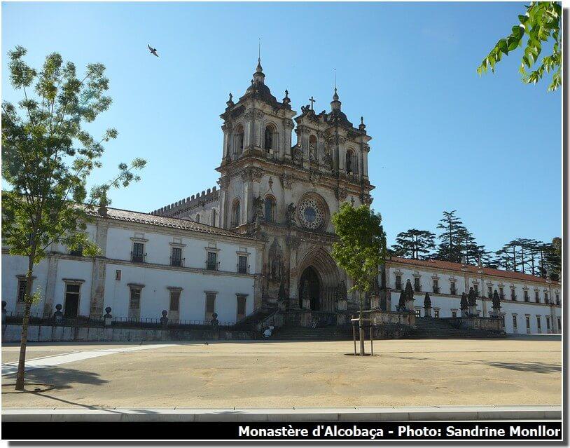 Monastère Alcobaça au Portugal