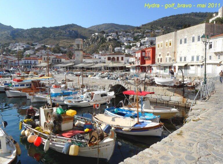 Port d'Hydra Ile grecque