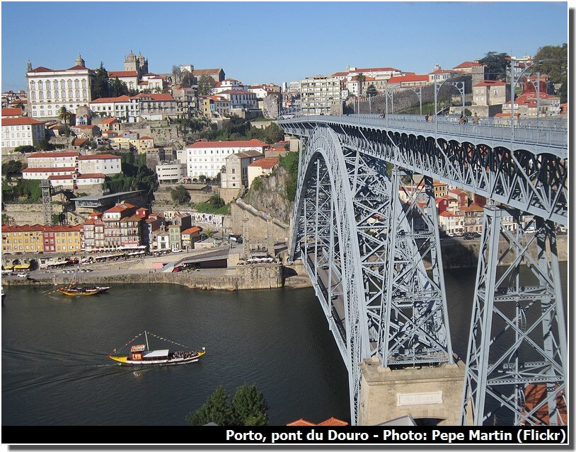 Porto et le pont du Douro