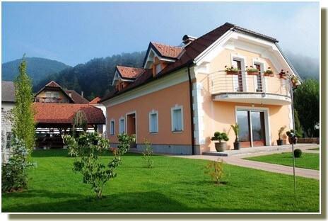 Villa Franca Planina Slovénie