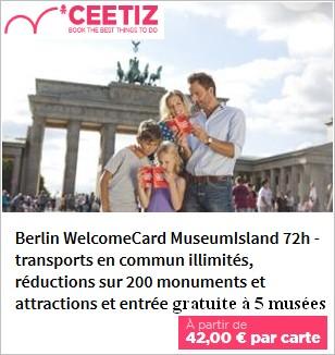 Acheter la Welcome Berlin Card