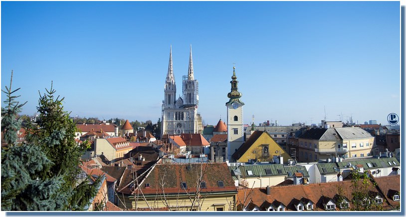 visiter Zagreb en un jour Kaptol cathédrale saint Stephane