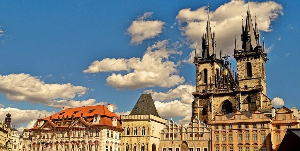 Prague Eglise du Tyn