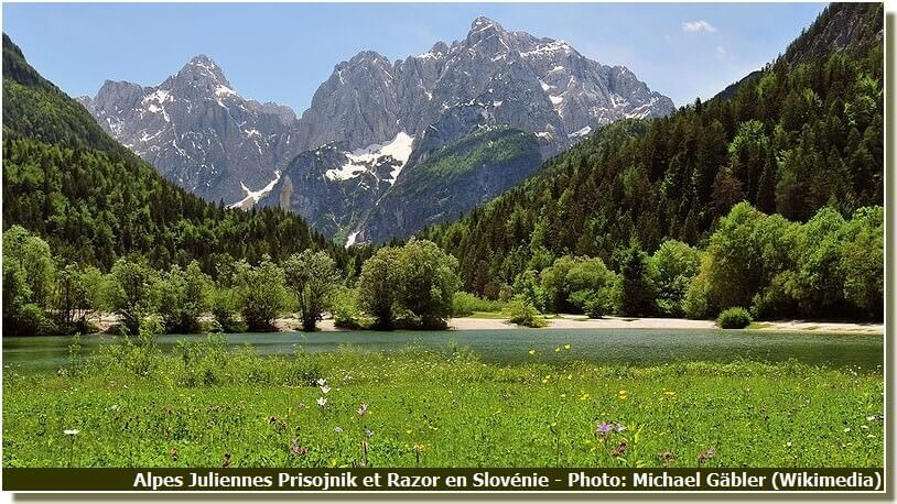 Alpes Juliennes Prisojnik et Razor