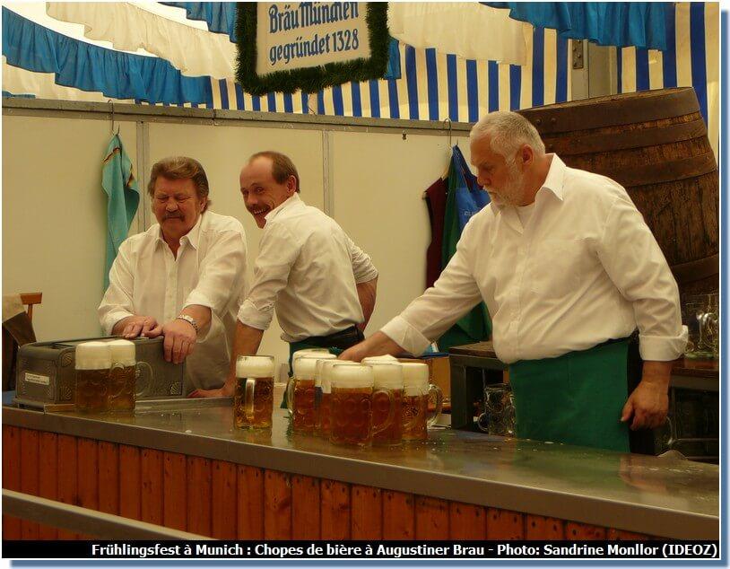 Augustiner Brau Muenchener Fruehlingsfest Chopes de Bière Massbier(1)