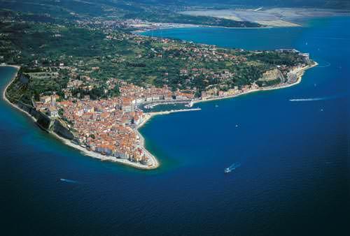 Côte Adriatique de la Slovénie
