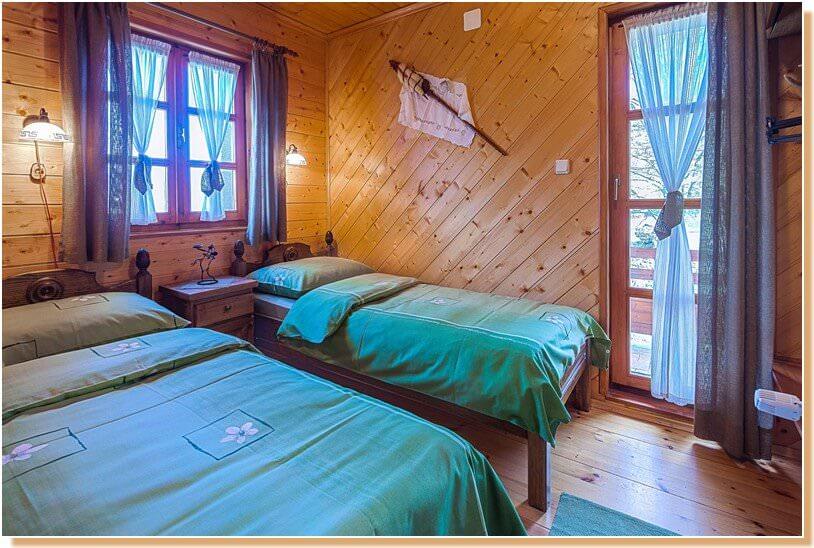 Chambre à Mrzlin grad Plitvice