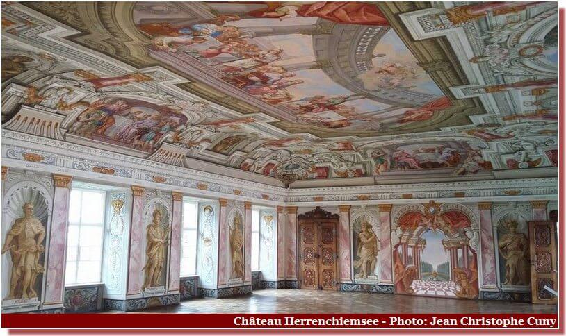 Chateau Herrenchiemsee Salle
