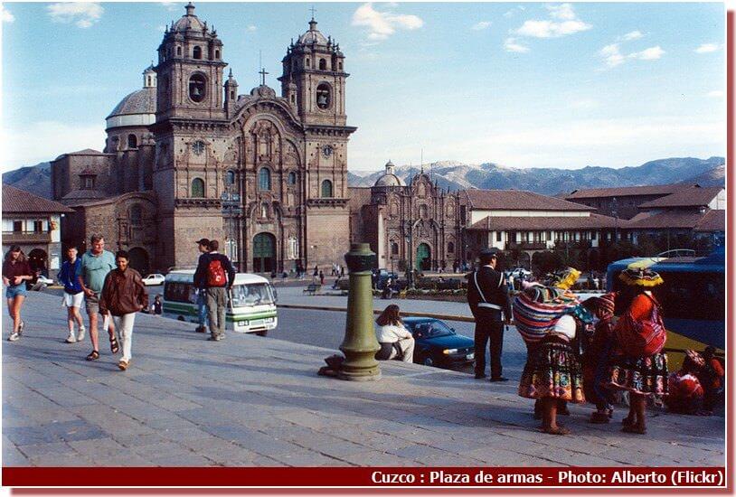 Cuzco plaza de armas