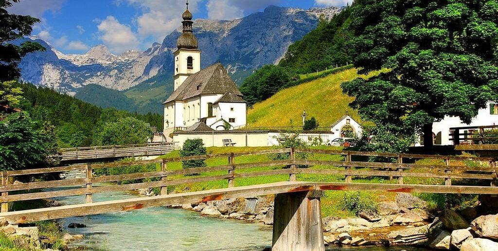 Eglise de Ramsau am Berchtesgaden
