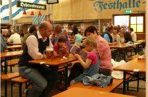 Fruhlingsfest Munich Fete de la biere en famille à Augustiner Brau