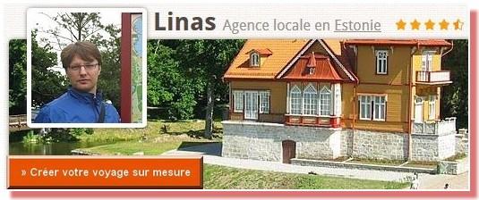 Linas agence de voyage francophone en Estonie
