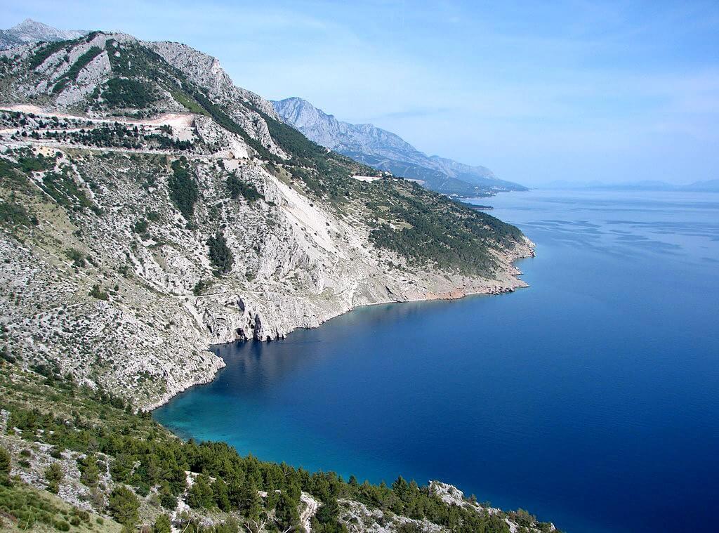 Magistrale en Dalmatie riviera de Makarska