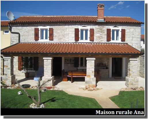 Maison rurale Ana à Kanfanar en Istrie