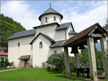 Monastère Moraca au Montenegro