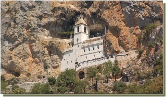 Monastère Ostrog Montenegro
