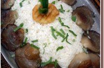 Mrzlin grad Accompagnement riz champignons