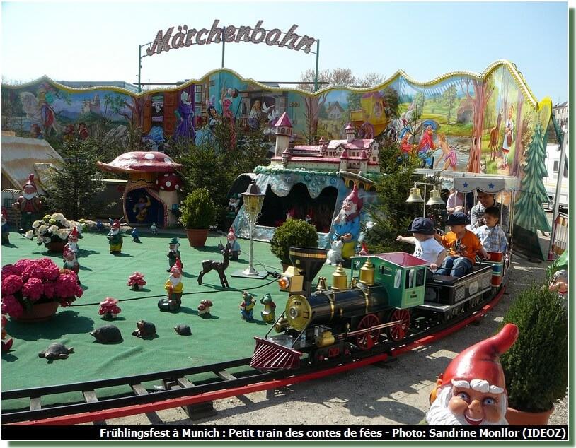 Munchener Fruhlingsfest Marchenbanh