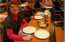 Munich Fruhlingsfest Festhalle Bayerland dégustation de plats bavarois