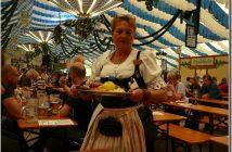 Munich Fruhlingsfest Festhalle Bayerland dégustation de spécialités bavaroises