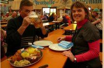 Munich Fruhlingsfest Festhalle Bayerland plats bavarois typiques