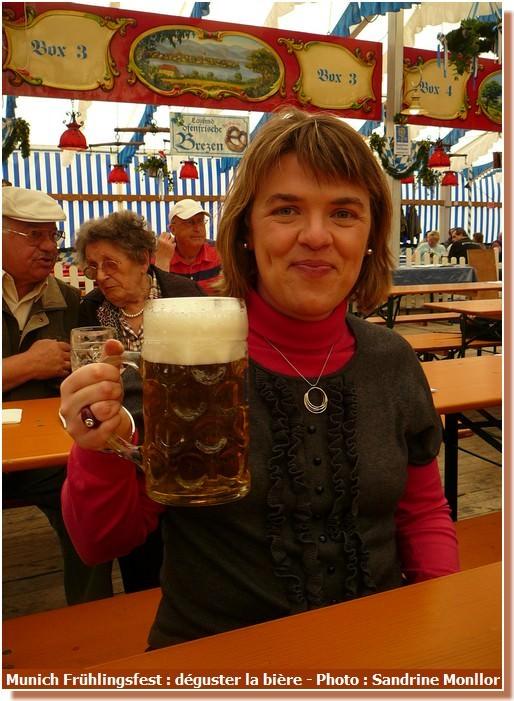 Munich Fruhlingsfest degustation de biere