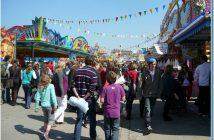 Munich ambiance de fête foraine de Fruhlingsfest