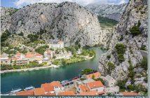 Omis le long de la Cetina