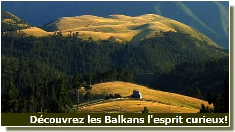 paysage rural des Balkans