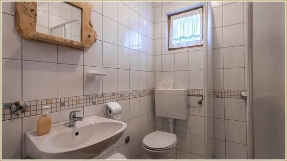 salle de bain Mrzlin Grad Vrelo Plitvice
