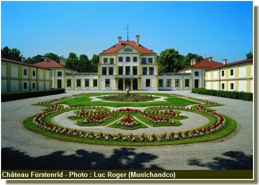 Chateau de Furstenried Résidence d'Othon Ier de Bavière