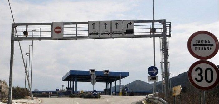 Carina karosovici douanes entre croatie et montenegro