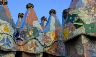 Mosaïques modernisme à Barcelone